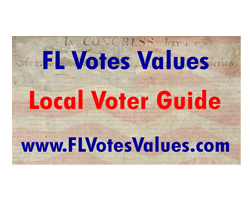 Florida Votes Values Logo