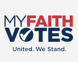 My Faith Votes Logo