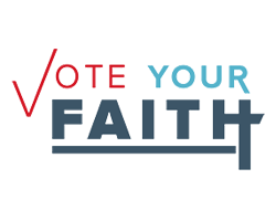 Vote Your Faith Logo