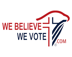 We Believe We Vote Logo